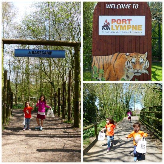 Port Lympne Wild Animal Park in Kent, England