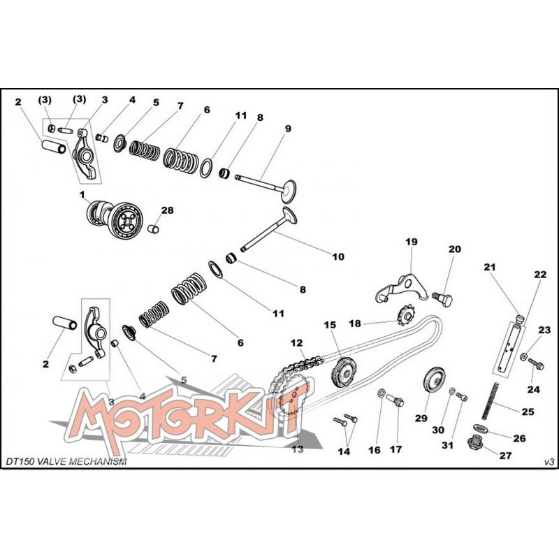 mini schema moteur mecanisme