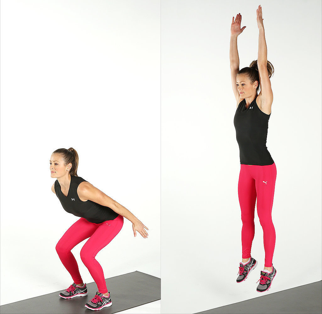 Jumping Fitness Exercises That Will Burn 200 Calories In Under 3 Minutes