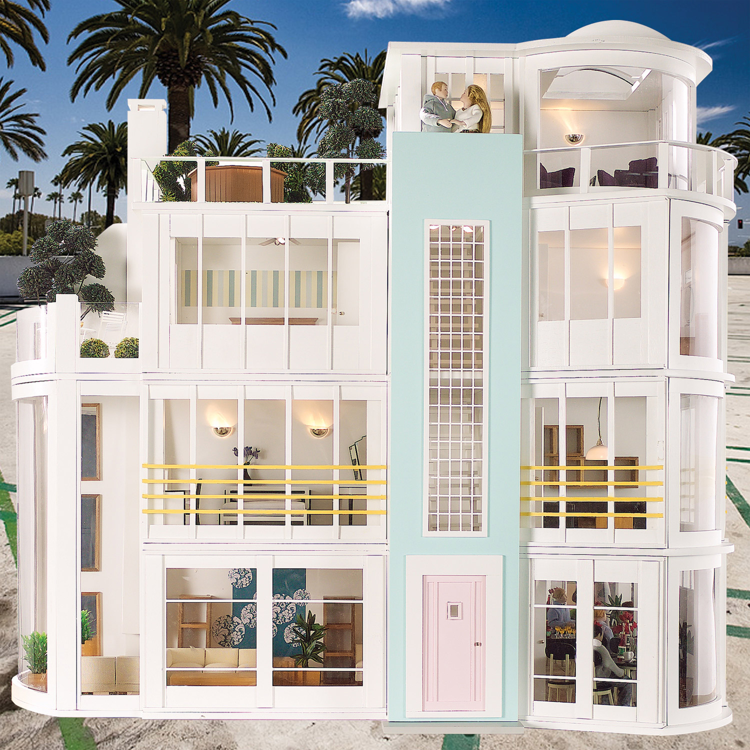 Barbie House Design Malibu Beach House 480 Not Your Grandma 39s Dollhouse