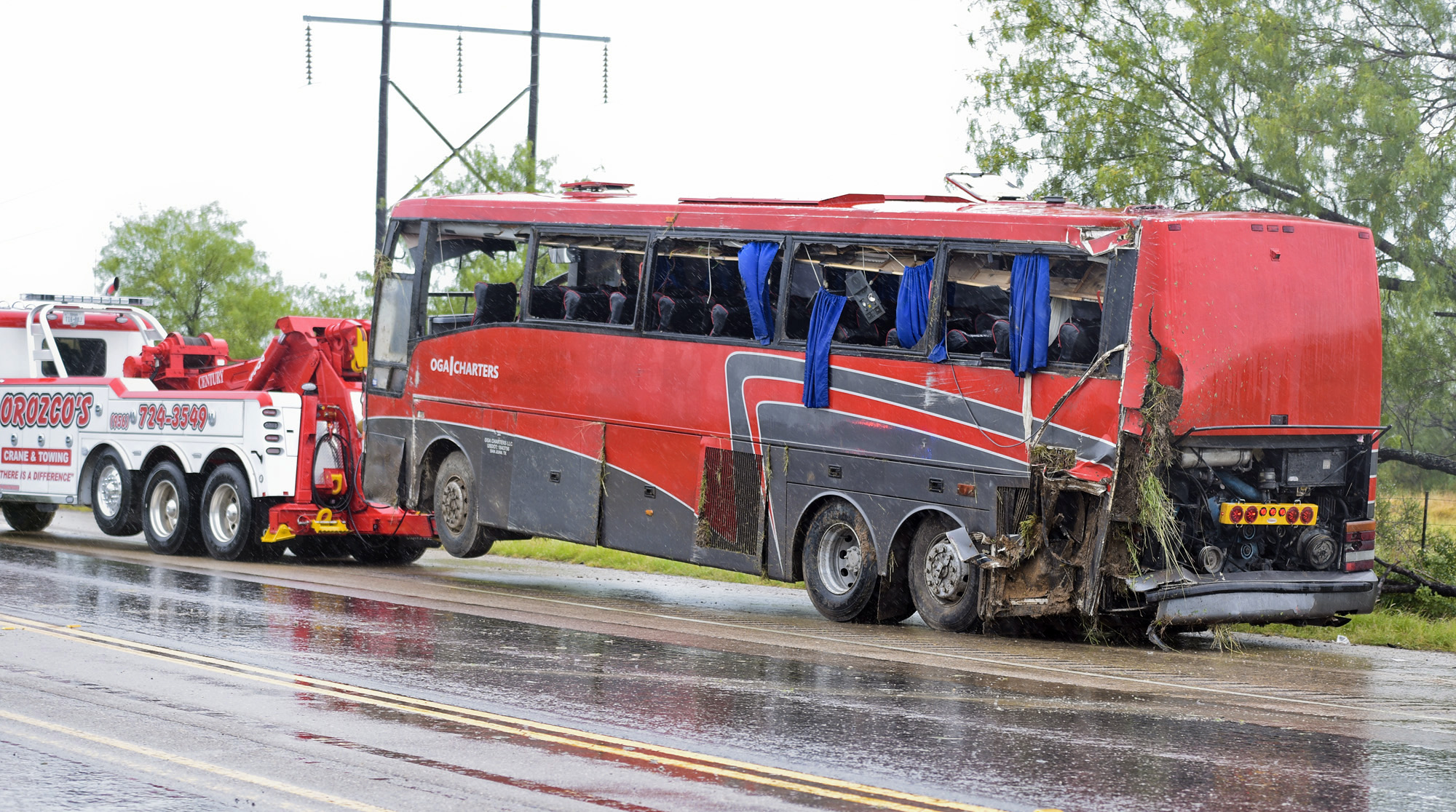 Injured In Accident 8 Dead 44 Injured In Charter Bus Crash In Texas