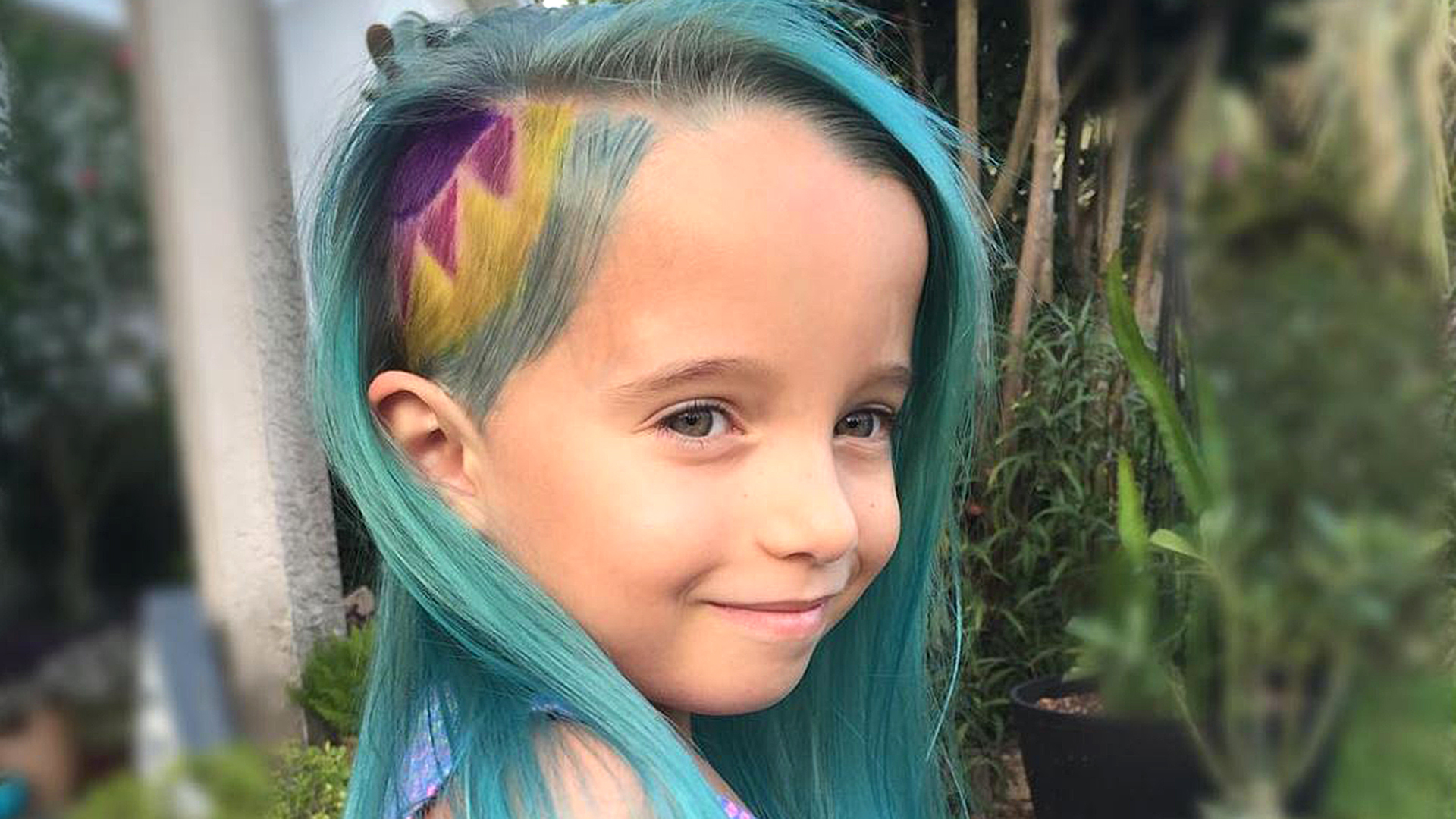 Coiffure Facile Fille 5 Ans Can You Be Too Young To Have Dyed Hair 6 Year Olds 39teal