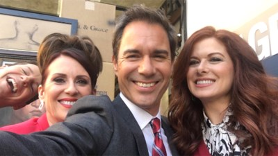 'Will & Grace' stars share pics from set: 'Just like riding a bike' - TODAY.com