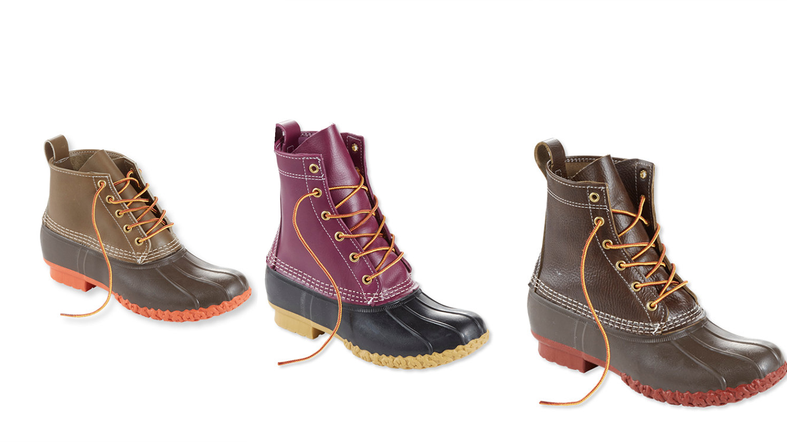 Ll Bean39s Duck Boots Now Come In New Colors And Styles