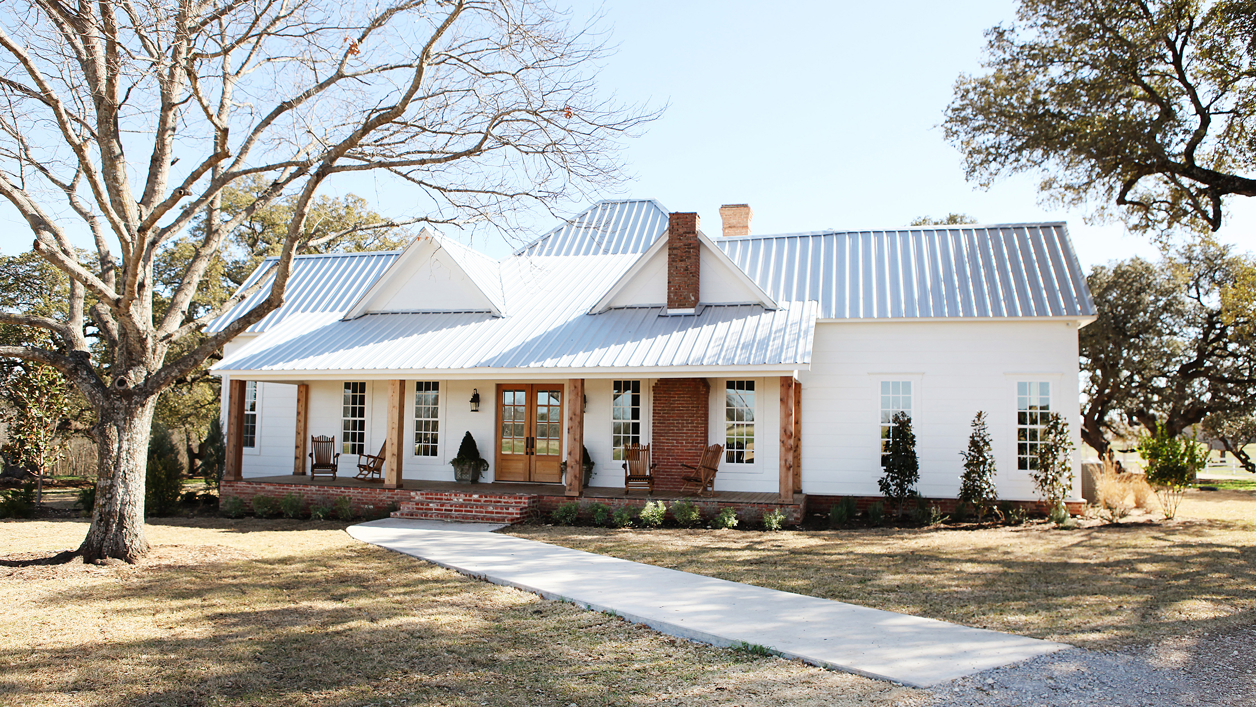 Renovated Farmhouse Before And After Joanna Gaines Speaks Out On Rumor That She And Chip Sold