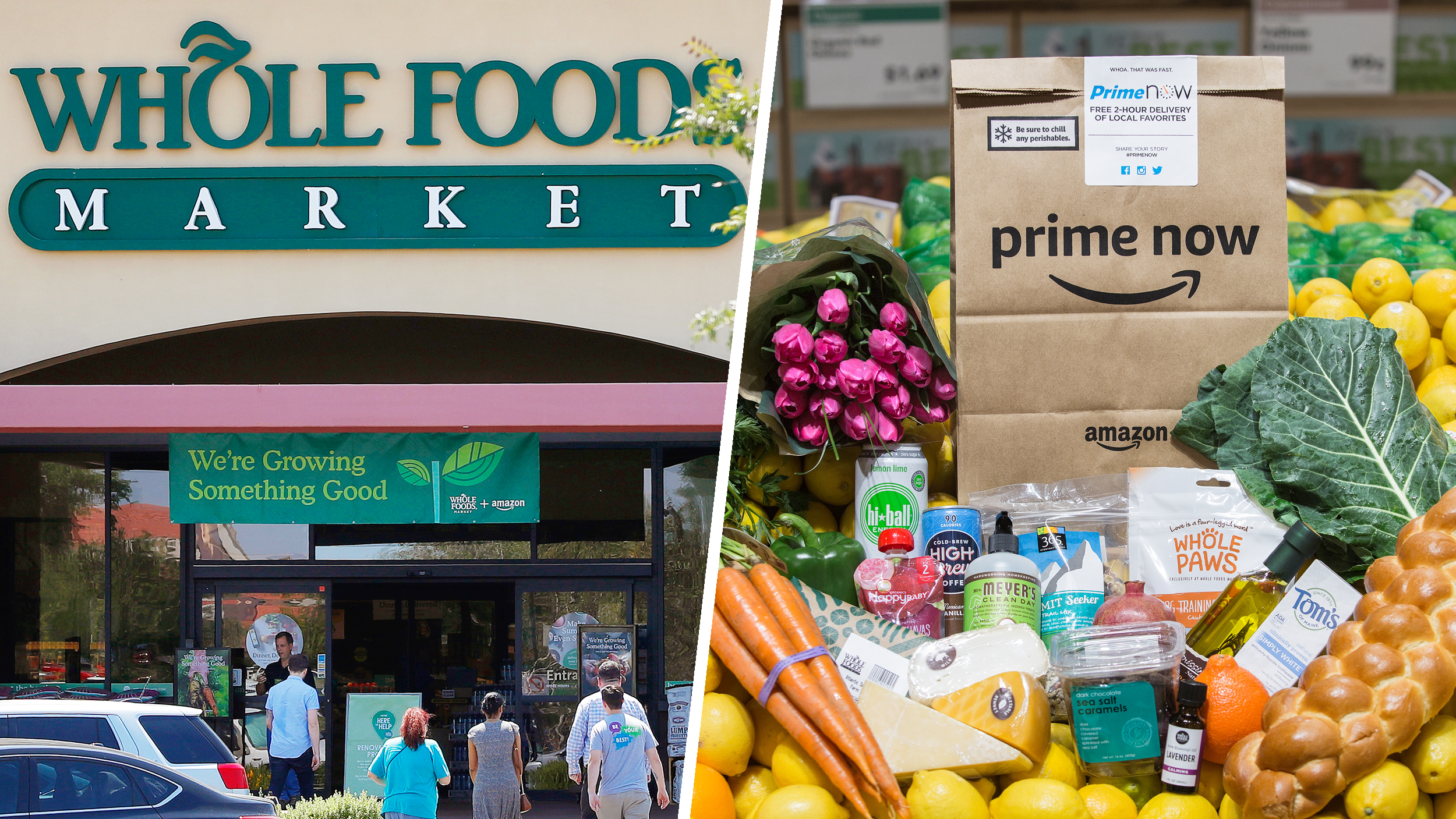 Amazon Grocery Skip The Line At Whole Foods Amazon Launches 30 Minute Grocery Pickup