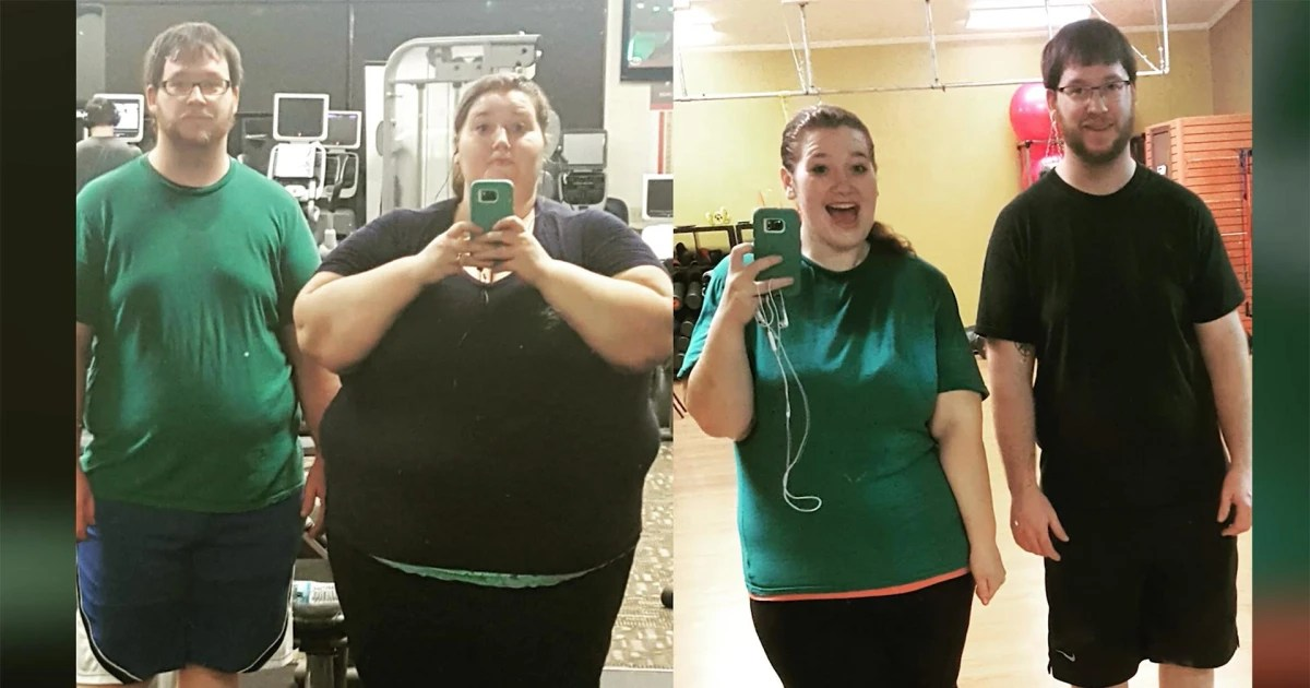 How this couple lost over 400 pounds together