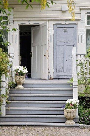 enter the house
