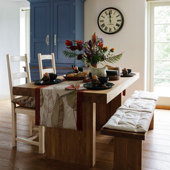 contemporary country dining