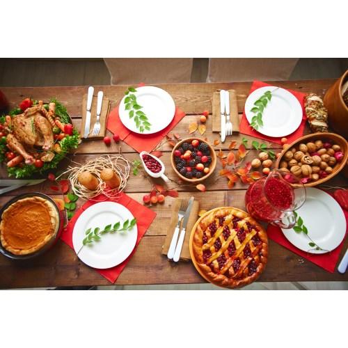 Medium Crop Of Prepared Thanksgiving Dinners