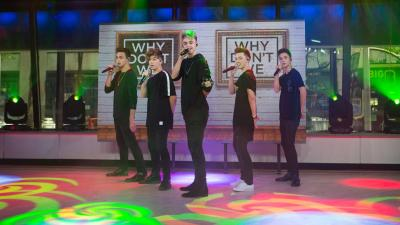 Watch boy band Why Don't We perform 'Something Different' live - TODAY.com