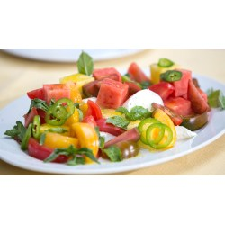Small Crop Of Heirloom Tomato Salad
