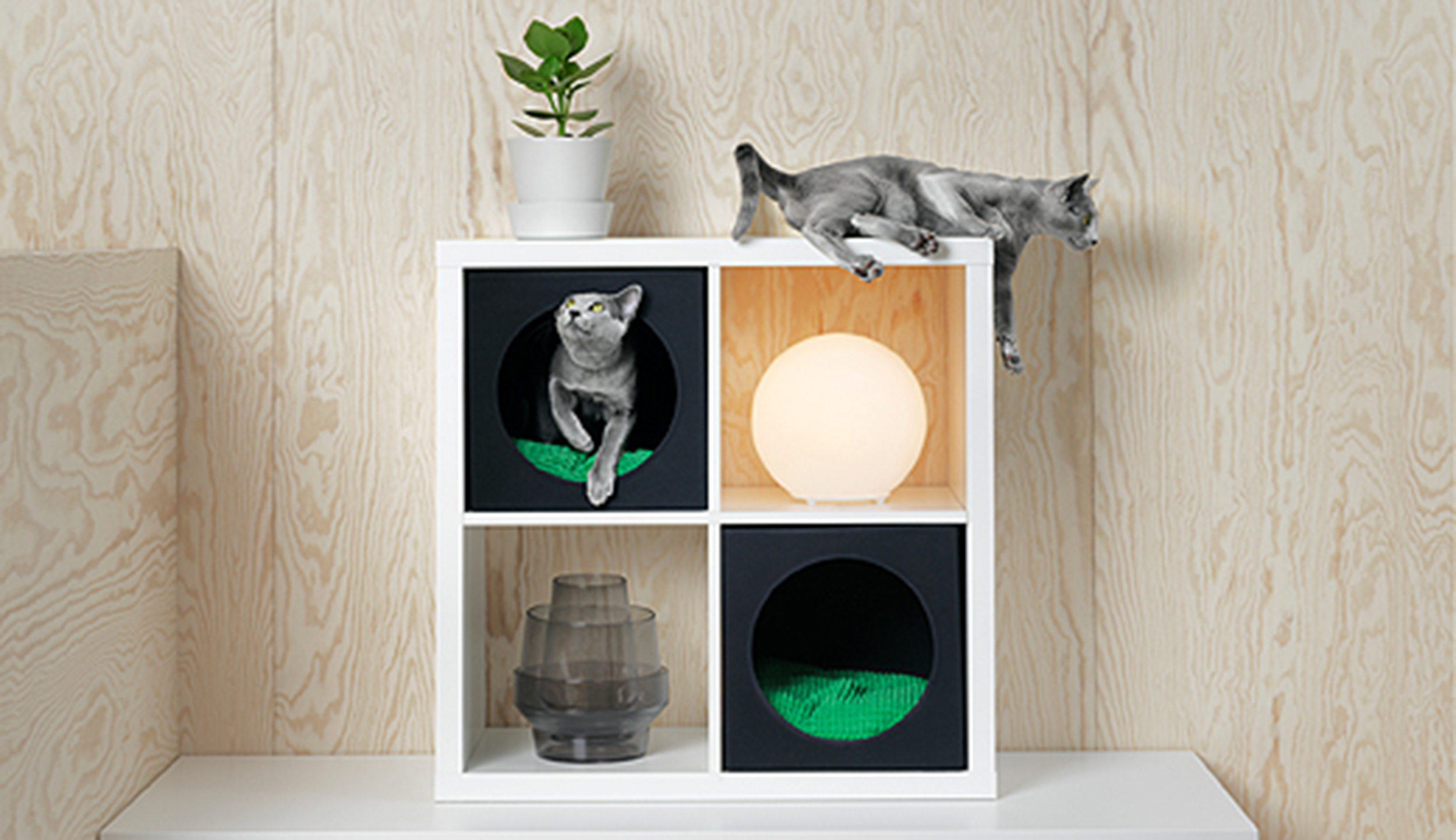 Meuble Chat Ikea 39s Lurvig Collection Is Just For Pets Today