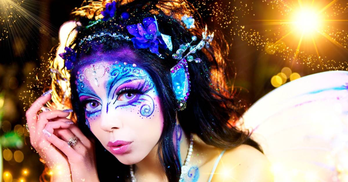 Sparkly Magical Girl Wallpaper Halloween Makeup Ideas 17 Magical Fairy Makeup Tutorials