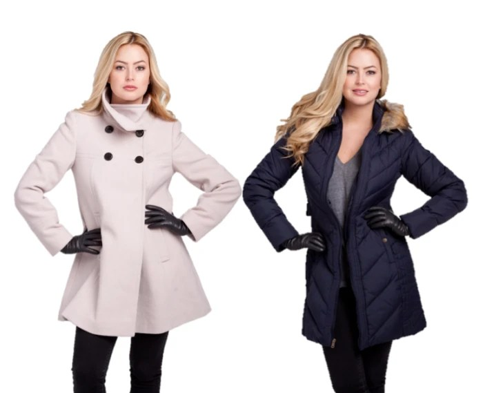 Larry Levine coats seen on Jill's Steals and Deals Today Show