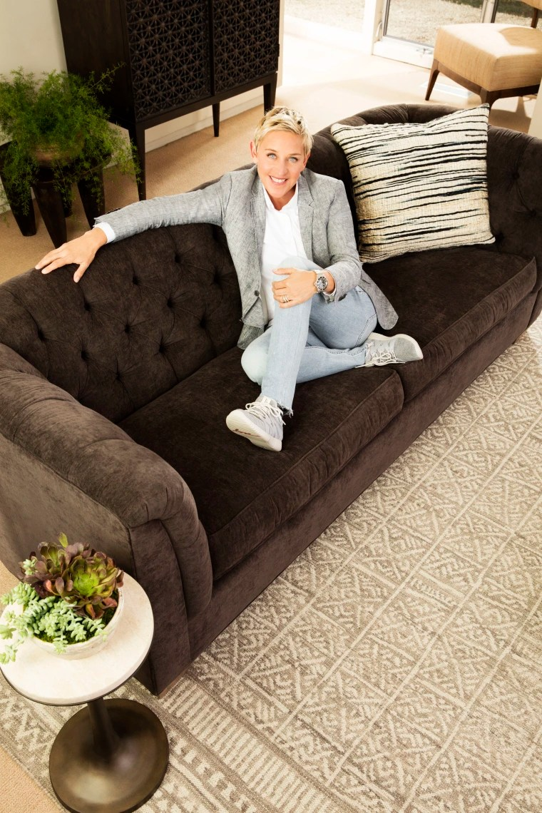 Sofa Take Home Today Ellen Degeneres New Home Collection Looks So Comfy