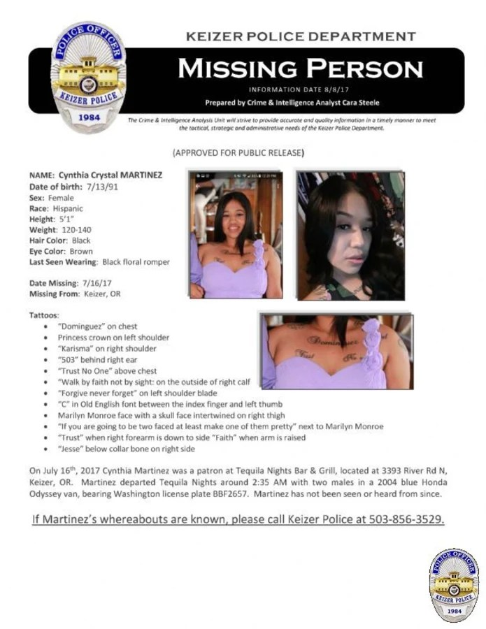 Person of Interest Named in Case of Missing Oregon Mother - NBC News - missing person flyer