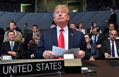 Trump doubles request for NATO defense dollars, calls Germany 'a captive of Russia'
