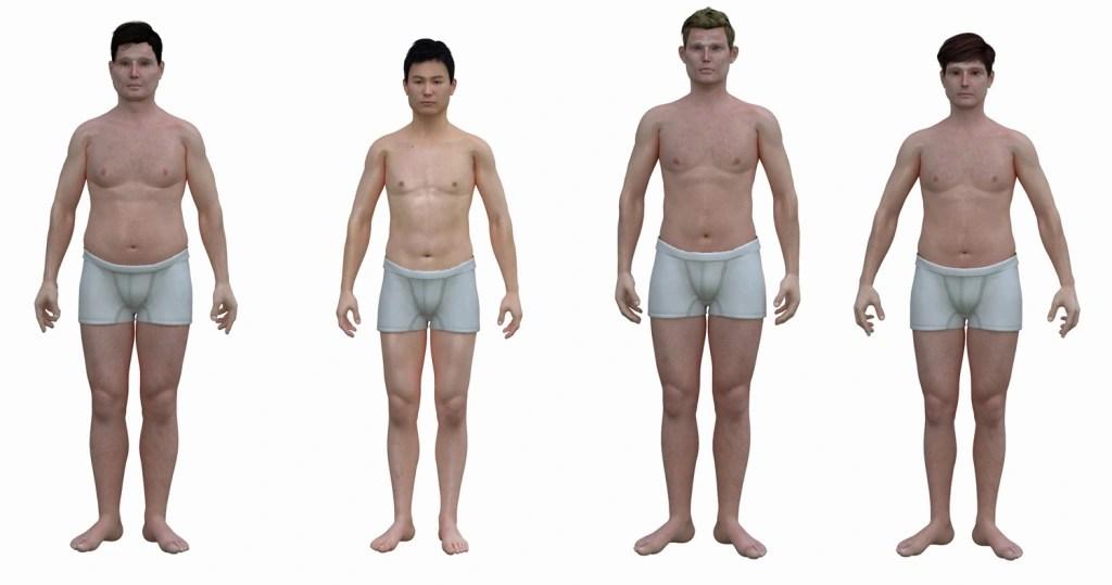 The \u0027real\u0027 shape of the American man Dudes, you\u0027re porky! - NBC News