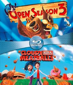 Open Season 3 & Cloudy With A Chance Of Meatballs (Blu-ray)