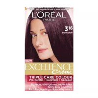Buy L'Oreal Paris Excellence Creme - Burgundy 316 (150 ml ...