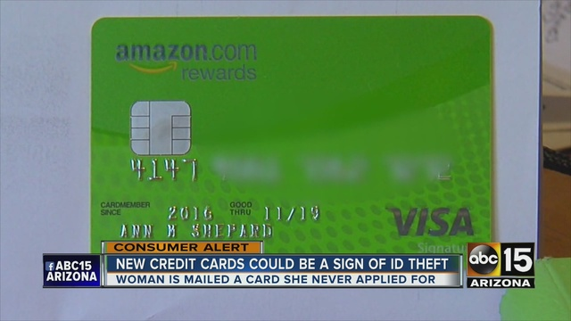 Credit card scam? Valley woman finds unwanted credit card in mailbox
