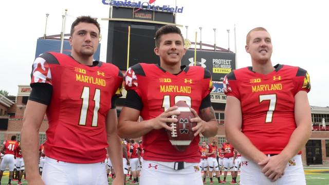 Maryland football Depth, competition at QB position - ABC2News