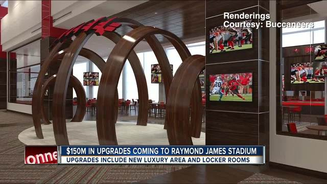 Tampa Bay Buccaneers announce more upgrades for Raymond James
