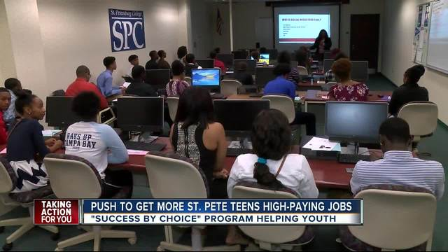 St Pete young adults getting big job opportunities - abcactionnews