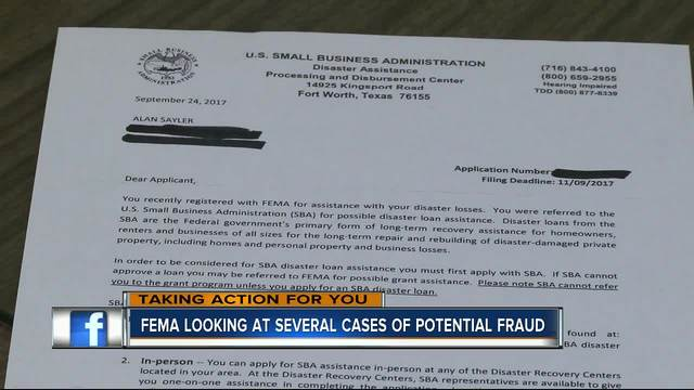 FEMA looking into several fraud cases - abcactionnews WFTS-TV - fema application form