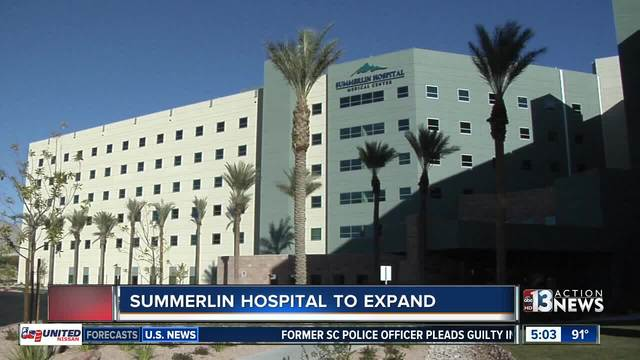 Summerlin Hospital to undergo expansion, renovation - KTNV Las Vegas - summerlin hospital labor and delivery