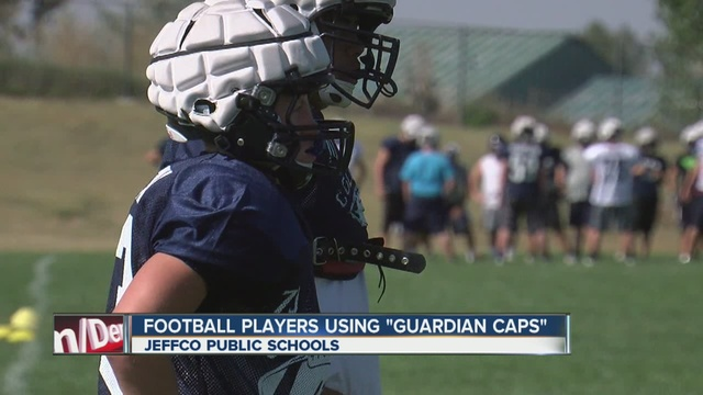 Columbine High School using caps on helmets - Denver7
