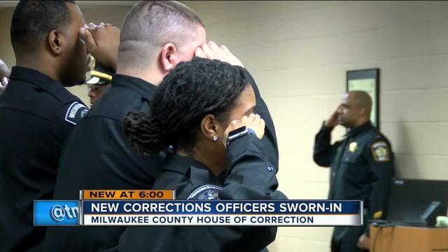 Milwaukee County House of Correction graduates new jailor class