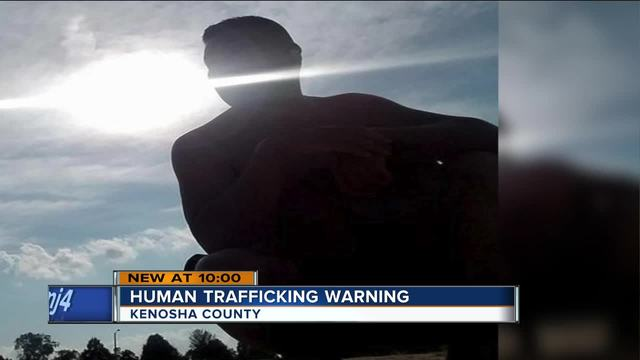 Kenosha woman warns others about sex trafficking after scary
