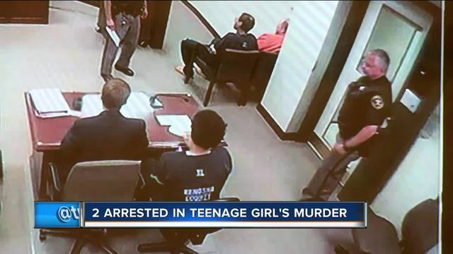 Olivia Mackay Two teenagers arrested in death of Kenosha 17-year