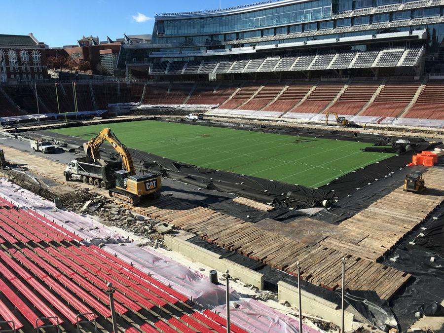 Wider field at Nippert Stadium will be ready for FC Cincinnati at