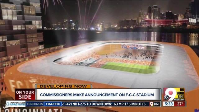 FC Cincinnati will privately fund its own stadium - WCPO Cincinnati, OH
