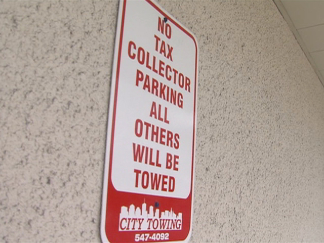 Residents complaining about parking problems at new Tax