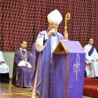 Dom Edney Gouvêa Mattoso: Missa de Quarta-Feira de Cinzas em Nova Friburgo
