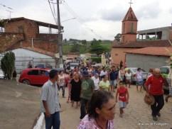 Procissão na Vila de Santana
