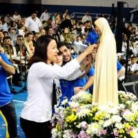 Coroação de Nossa Senhora no Colégio Marista Nossa Senhora da Penha