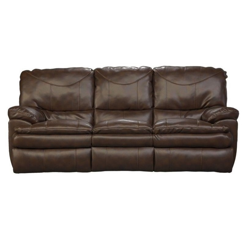catnapper leather sofa