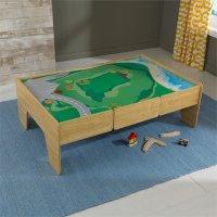 Kidkraft Wooden Train Play Table - 18006