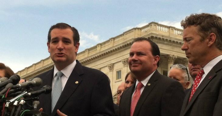 Ted Cruz Ron Paul