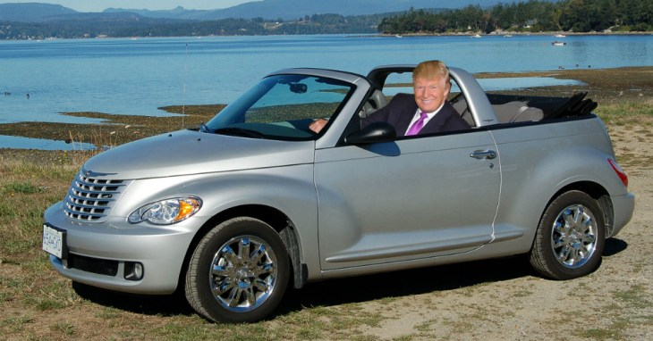 Donald Trump PT Cruiser