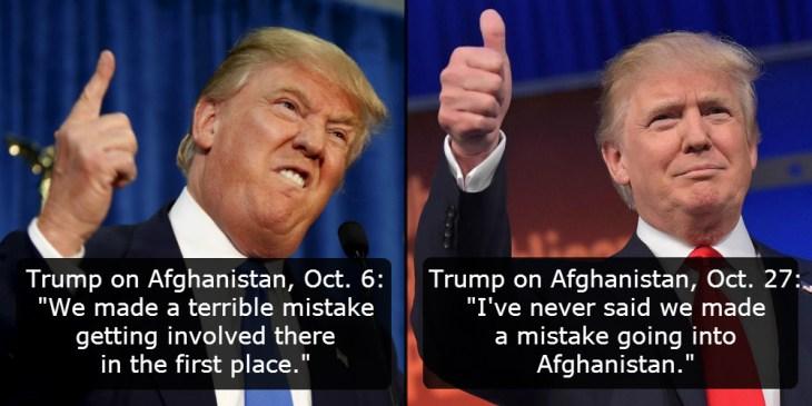 Trump on Afghanistan