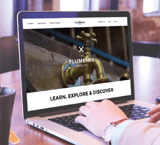the Plumbing Museum website on mac