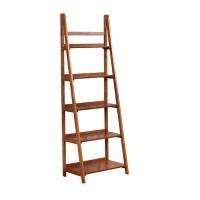 Leaning Shelves Bookcases | Bellacor