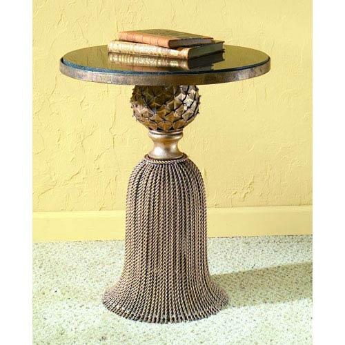 Dr Livingstone I Presume Antique Gold Tassel Table Dlf173agld