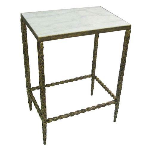 Dr Livingstone I Presume Burnished Gold Iron Side Table Dlt123lbg